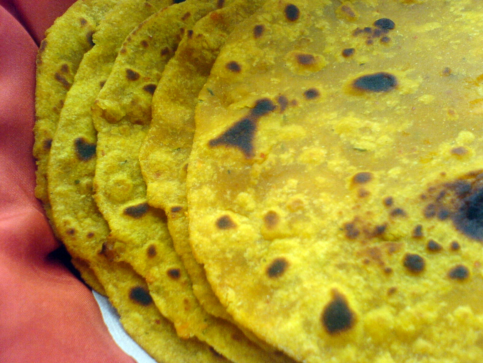 Sweet Potato Paratha picture